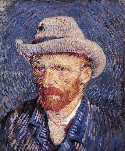 410px-Self-portrait_with_Felt_Hat_by_Vincent_van_Gogh