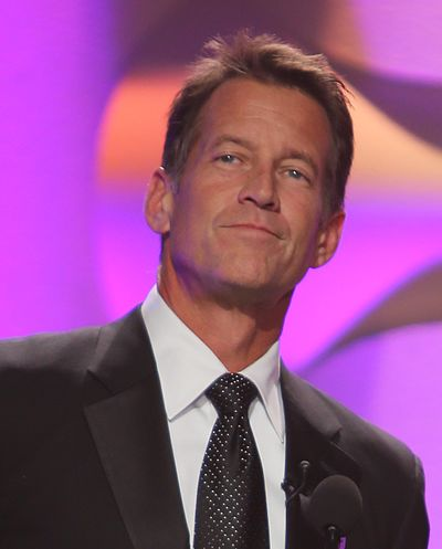 400px-2014_AHA_Hero_Dog_Awards_Celebrity_Hosts_James_Denton_and_Beth_Stern_cropped
